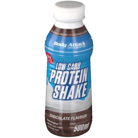 protein chocolate attack low carb protein shake chocolate shop