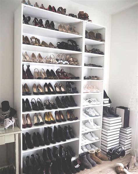 pin de judith p sanico en closet estanteria  zapatos