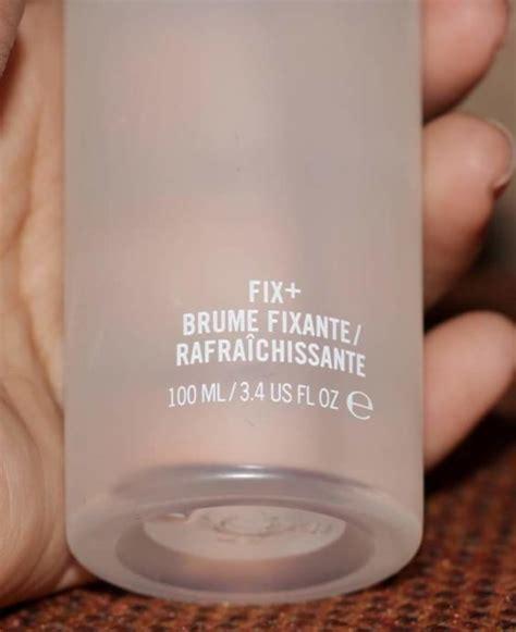 Mac Prep And Prime Fix mac prep prime fix spray review