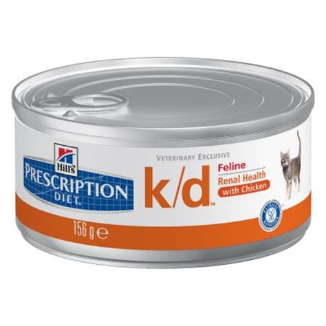 kidney care food hill s prescription diet feline k d free p p 163 29 at zooplus