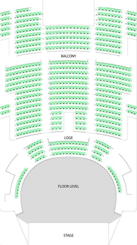 st theater seating plan venue specs palace theatre