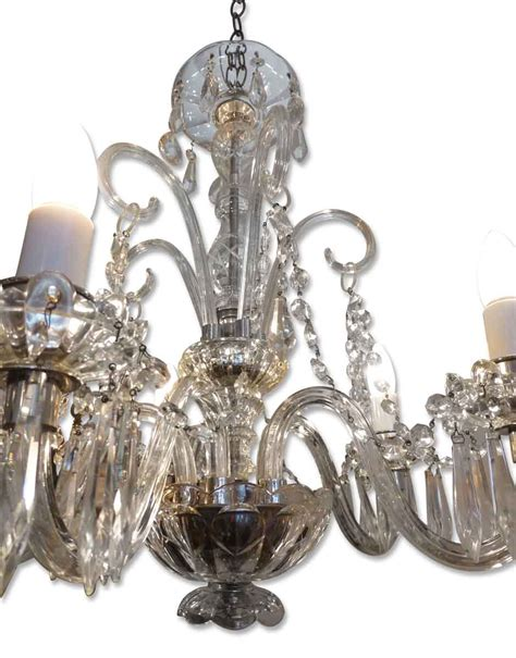 Chandelier Arms Chandelier With Glass Arms Olde Things