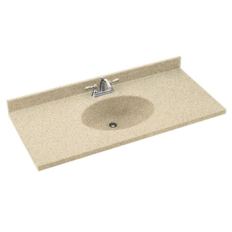 Solid Surface Vanity Sinks by Swanstone Ch1b2261 040 Chesapeake 61 In Solid Surface Vanity Top Atg Stores