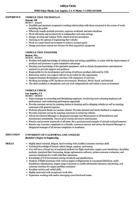 Integration Engineer Cover Letter by Vehicle Integration Engineer Sle Resume Sle Cover Letter For Teachers With No Experience