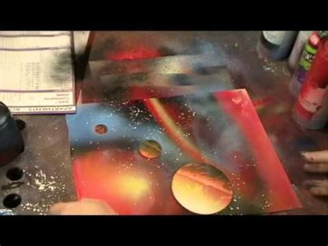 spray painting courses spray paint secrets space painting made easy spray