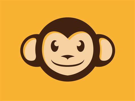 dribbble monkey logo by alberto bernabe