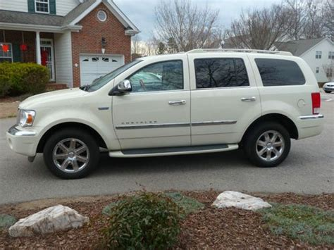 auto air conditioning repair 2009 chrysler aspen navigation system sell used 2009 chrysler aspen limited hybrid sport utility 4 door 5 7l in cary north carolina