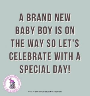 baby showers quotes quotes for boys baby shower quotesgram