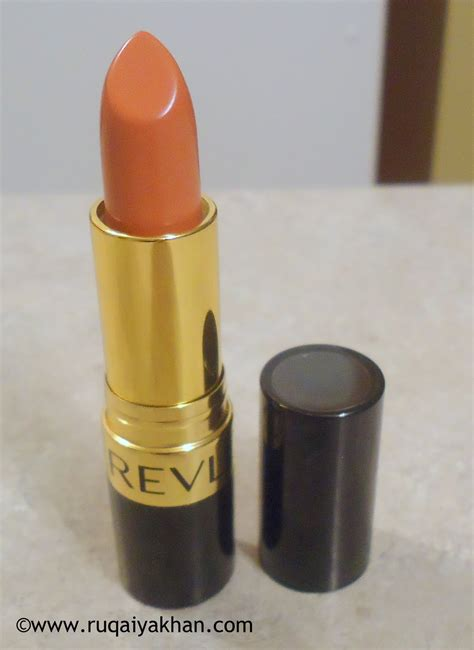 Lipstik Revlon Sandalwood Beige ruqaiya khan revlon lustrous lipstick in sandalwood beige review and swatches