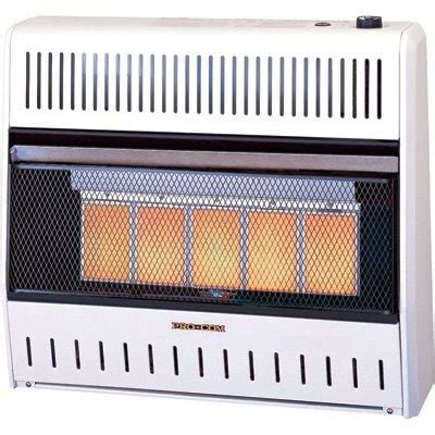 procom radiant vent free heater safe space heaters procom vent free dual fuel infrared