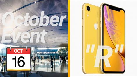 apple october 2018 event date iphone xr meaning q a 13