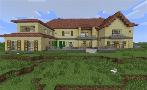 building a mansion sevenchest mansion minecraft project