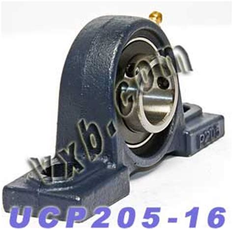 Pillow Block Bearing Ucp 205 16 Asb 1 1 quot bearing ucp 205 16 pillow block cast housing mounted bearings