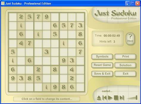 printable sudoku games free download just sudoku download