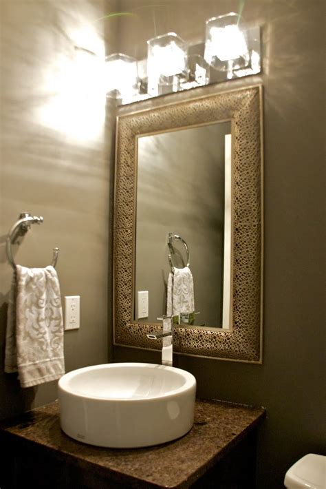Mirrors For Powder Rooms - 1000 images about powder room on pinterest marble top vessel sink vanity and powder room design