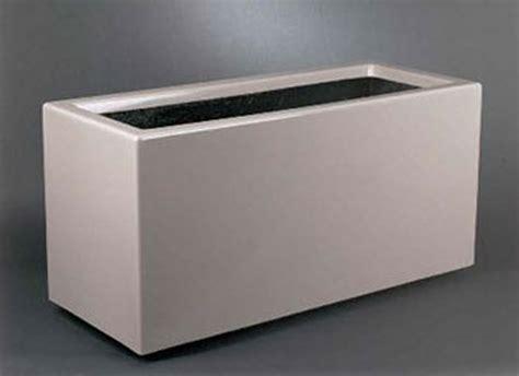 Fiberglass Rectangular Planter by Fiberglass Rectangular Floor Planters