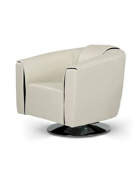 Modern Swivel Lounge Chair by Modern Leatherette Swivel Lounge Chair 44o1280