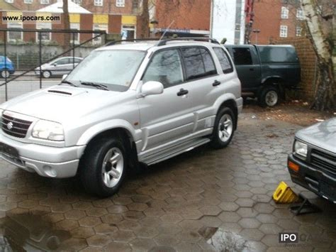 2002 Suzuki Vitara Specs 2002 Suzuki Vitara 2 0 Diesel Car Photo And Specs