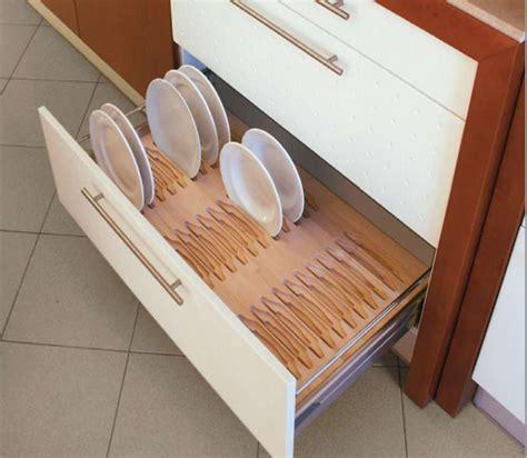 complementos de madera  organizar los cajones de la cocina cocinas  estilo