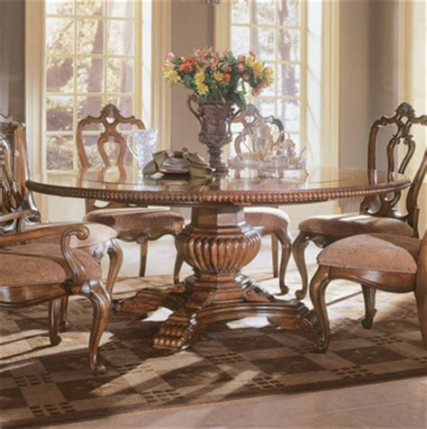 Universal Dining Room Sets Villa Cortina Pedestal Table Dining Room Set By