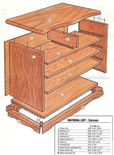 heirloom jewelry box plans woodarchivist