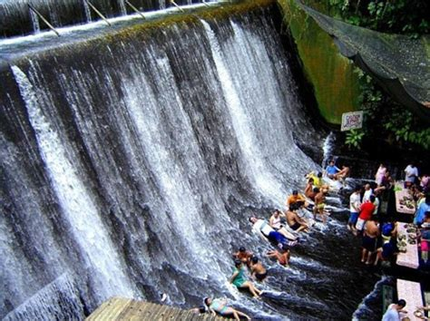 villa escudero waterfalls restaurant waterfall restaurant in the philippines where diners get a