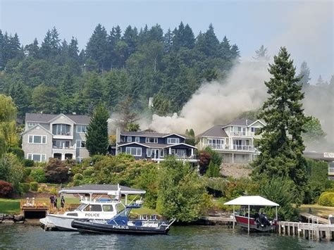 island house mercer island big house fire on mercer island draws dozens of firefighters mercer island wa patch
