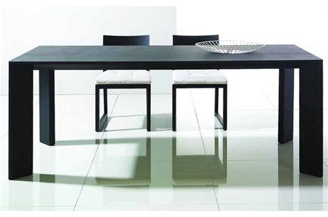 evette dining table large contemporary dining tables