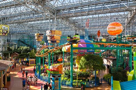 amusement park ride roof world s most eye popping malls where you can ride roller