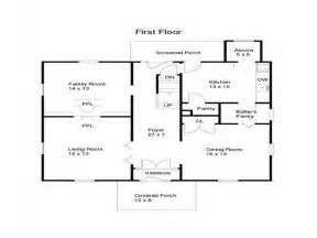 Open Floor Plans For Ranch Homes Cathedral Ranch Open Floor Ranch House Open Floor Plans