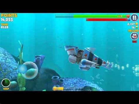Hungry shark evolution  robot shark   YouTube