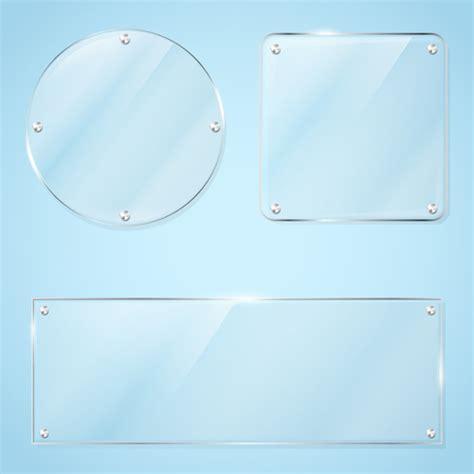 vector glass frame design vector 02 vector frames