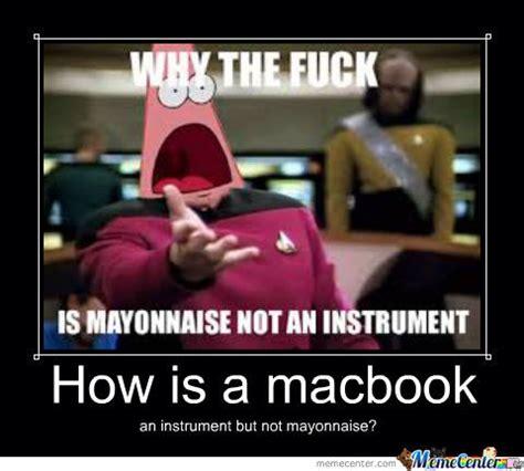 Mayonnaise Meme - mayonnaise patrick by rune meme center