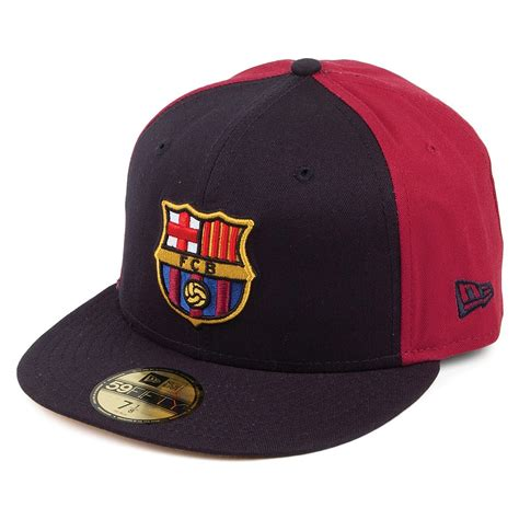 Hat Cap Barcelona new era 59fifty fc barcelona baseball cap euroleague