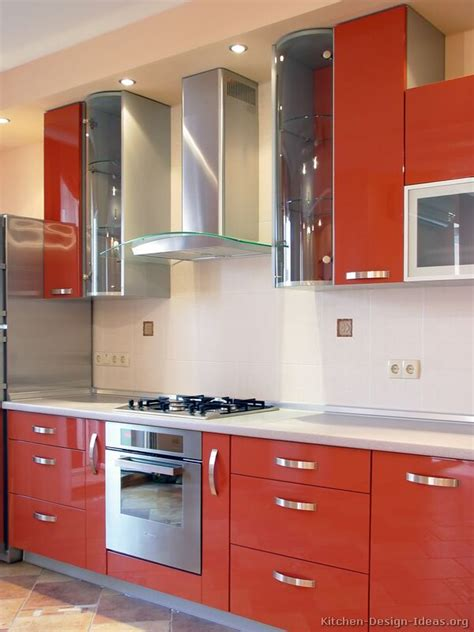 picture of kitchen pictures of kitchens modern orange kitchens kitchen 3