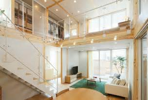 Open Loft House Plans by Japanese Style Interior Design