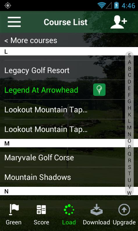 golf apps for android free golf gps app freecaddie android apps on play