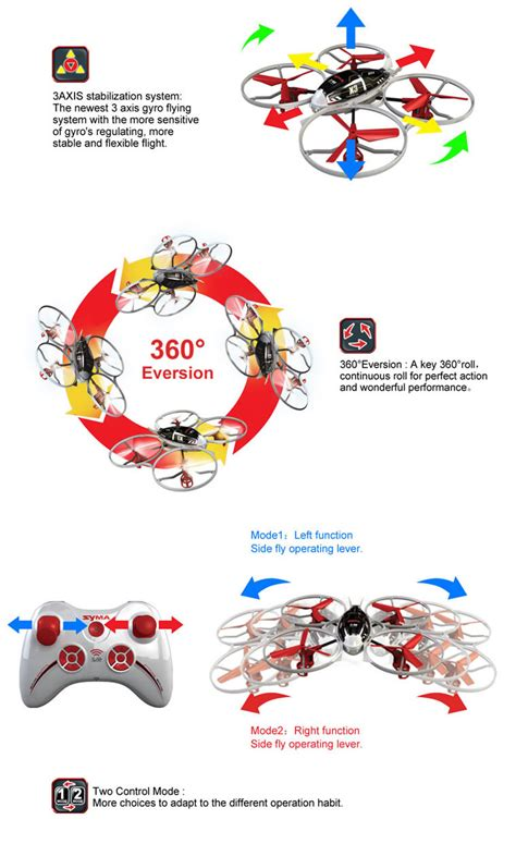 Syma X3 4 Ch Remote 24g Quadcopter With Gyro Pop8 syma x3 2 4g 4ch 6axis rc quadcopter out of stock