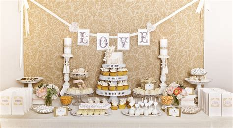dessert table luxury wedding