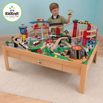 cars play table costco kidkraft airport express set and table 3 years