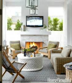 outdoor living room with fireplace coastal home 10 ways to to create summertime outdoor