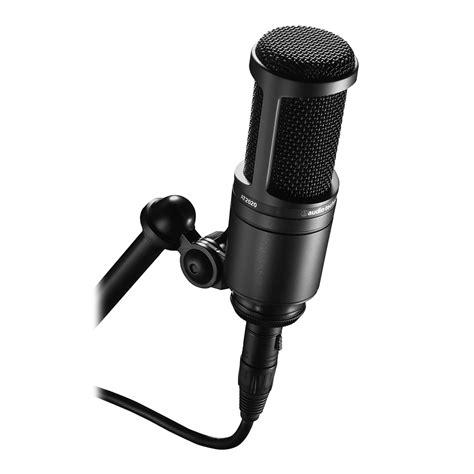 Audio Technica At2020 Cardioid Condenser Studio Microphone audio technica at2020 condenser mic condenser mics microphones studiospares