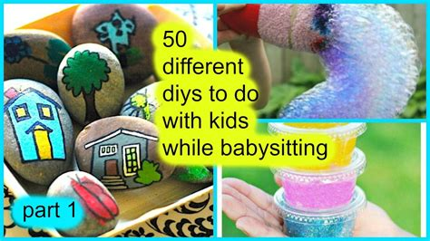 7 Crafts To Do With Your Child by 50 Diys To Do With While Babysitting Part 1