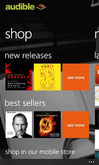 audible mobile store app audible xap windows phone free app feirox