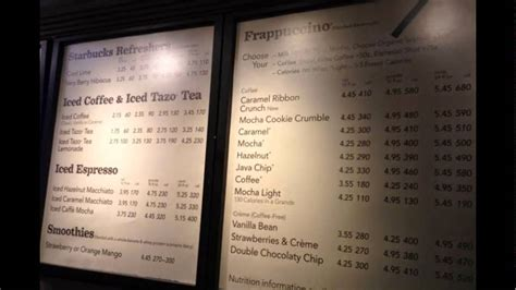 Coffee Starbucks Indonesia daftar harga menu starbucks indonesia
