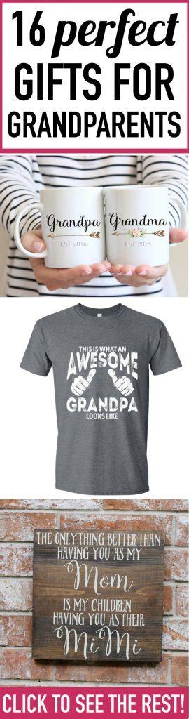 fabulous gift ideas for grandparents parents