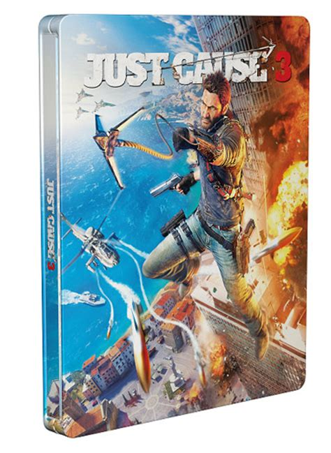 dissidia nt prima collector s edition guide books steelbook exclusif micromania just cause 3