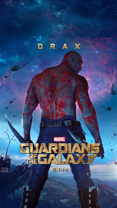 film marvel galaxy gotg quot drax quot iphone 5 wallpaper guardians of the galaxy
