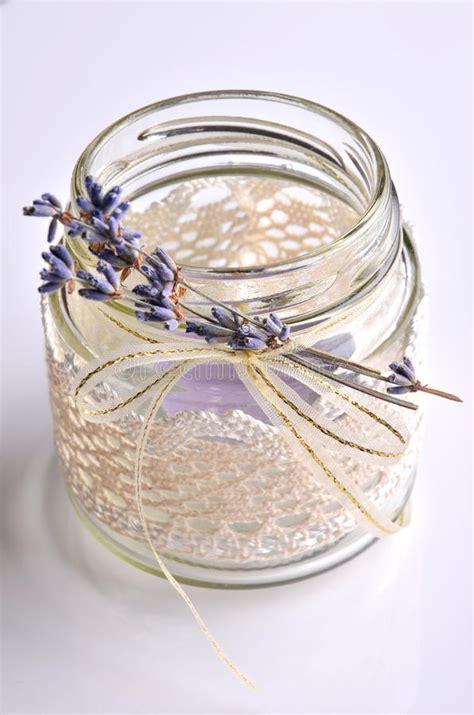 Handmade Decorative Candles - decorative candle holder stock image image of summer