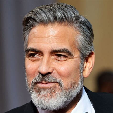 Comb Hairstyle George Clooney by George Clooney Haircut